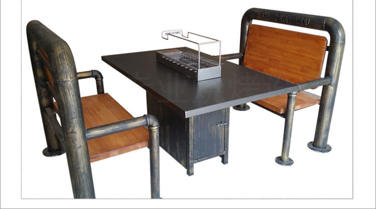 很久以前烧烤桌椅定做加工