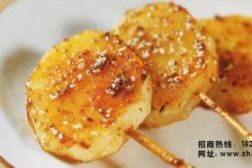 烧烤配方:烤土豆