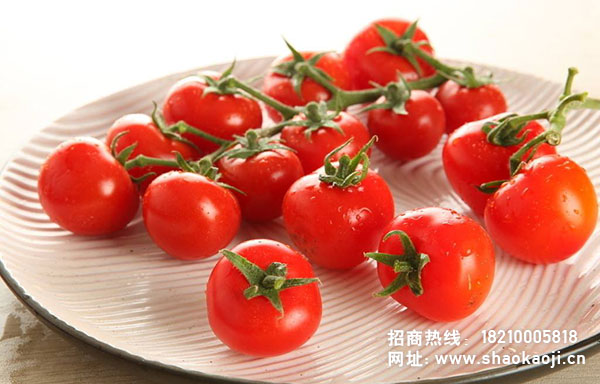 烧烤蔬菜之烤樱桃西红柿