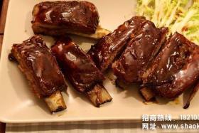 美式烧烤排骨摩洛哥烤羊肉串