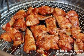 韩国烧烤:煎鸡肉