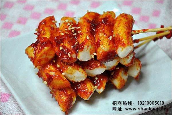 韩国烧烤 羊羔串