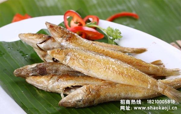 韩国烧烤 烤棒鱼