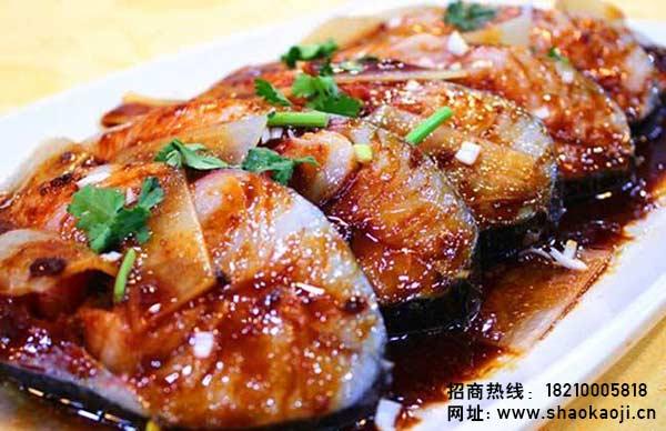 韩国烧烤 煎鳗鱼