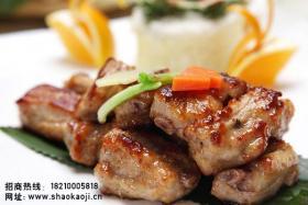 韩国烧烤:煎排骨