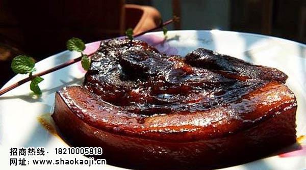 韩国烧烤  煎猪肉