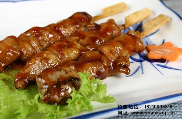 韩国烧烤 煎鸡翅