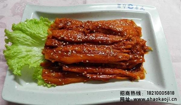 韩国烧烤 煎沙参