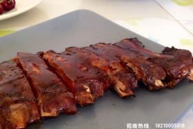 韩国烧烤:煎猪肉