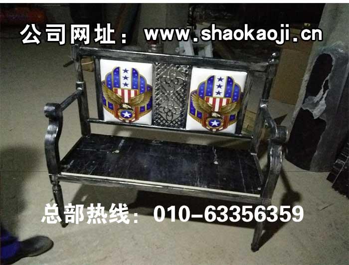 食之秀龙头软包椅 创意桌椅 自动烧烤桌椅定做加工