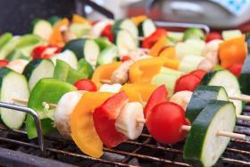 电热烧烤炉制作广东烧烤之---蔬菜篇