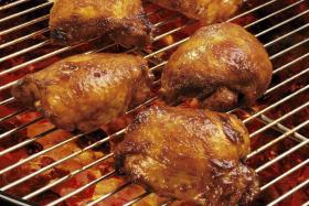 烤鸡块制作方法-【食之秀烧烤课堂】