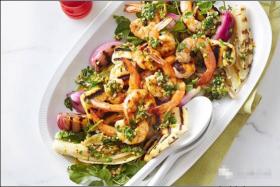 BBQ烤虾制作方法