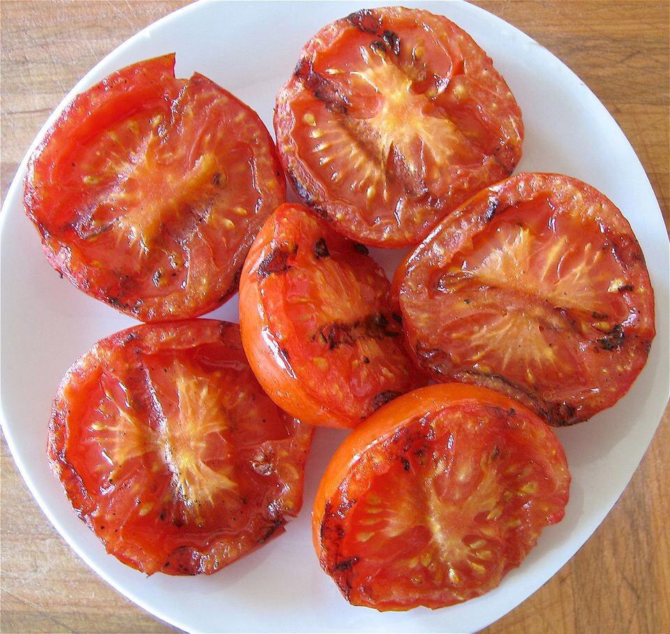 烤西红柿制作方法