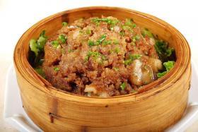 粉蒸肉的做法【食之秀烧烤技术】