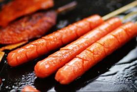 串烤火腿肠的做法_串烤火腿肠怎么做才好吃