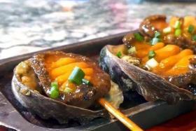 碳烤鲍鱼的做法_碳烤鲍鱼怎么做_碳烤鲍鱼的好吃做法