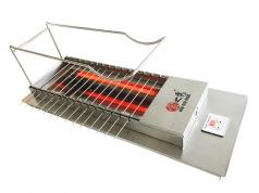 很久以前无烟自动电烤炉 商用多功能自动翻转烧烤炉