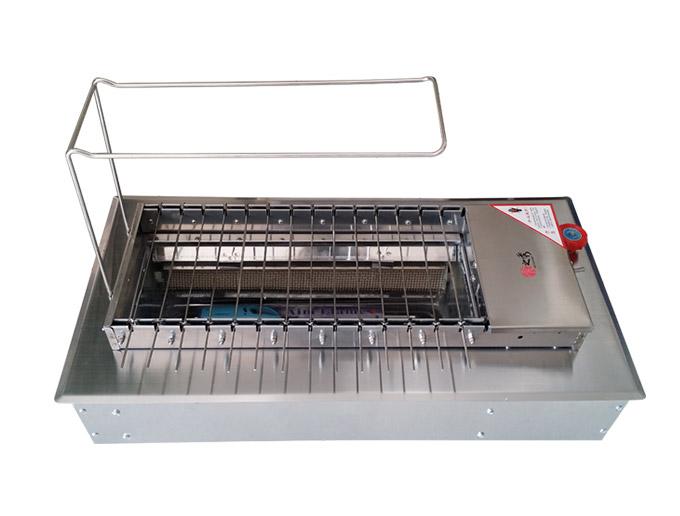 很久以前专用燃气自动烧烤炉 很久以前燃气自动无烟烧烤炉
