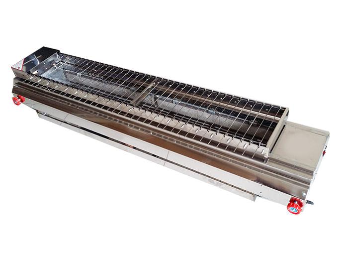很久以前无烟燃气自动烧烤炉_食之秀38串燃气自动烧烤炉