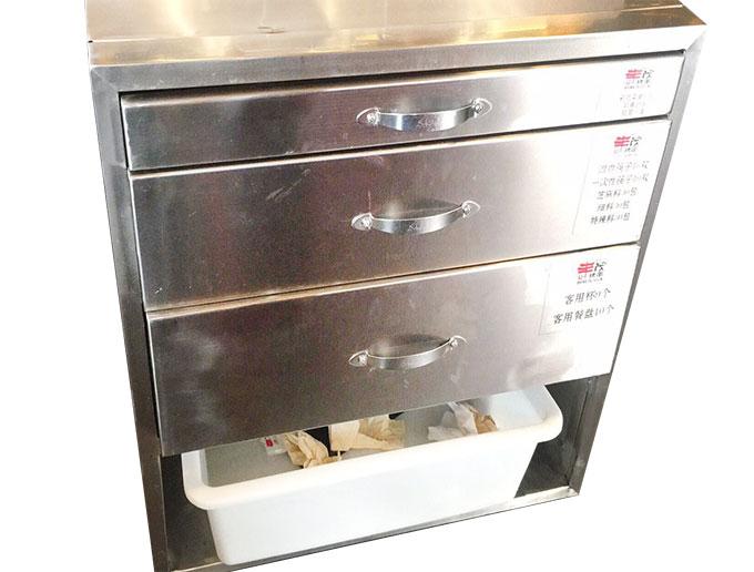 食之秀多功能边柜_丰茂烧烤店专用边柜