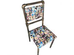 欧式复古烧烤单椅