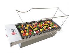 17串双层木炭自动烧烤炉