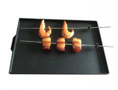 食之秀烧烤盘带防粘涂层 多功能烧烤盘