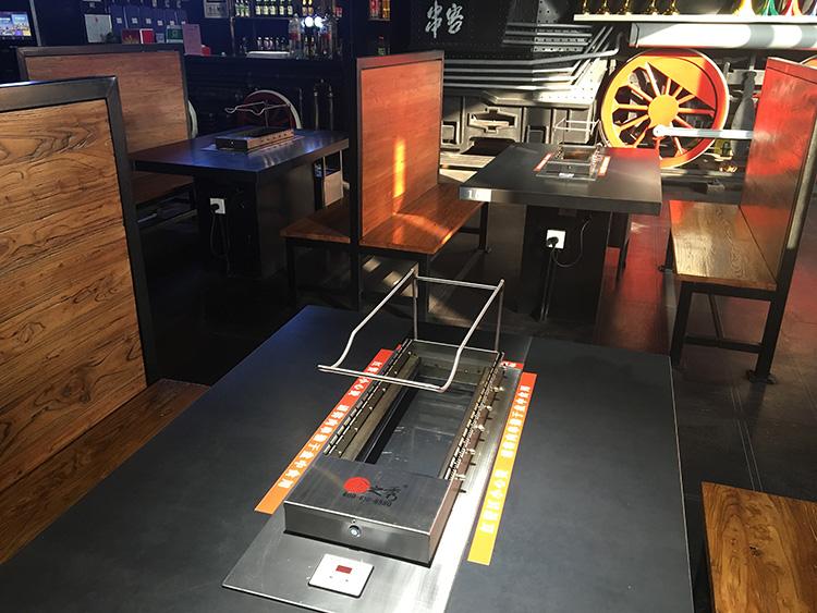 串客烧烤车间店面图