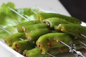 烤辣椒的做法_烤辣椒如何做_烤辣椒怎样做好吃