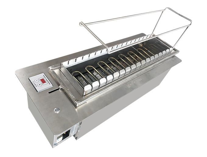 商用自动电烤炉丰茂自助无烟烧烤炉很久以前自动旋转烤串