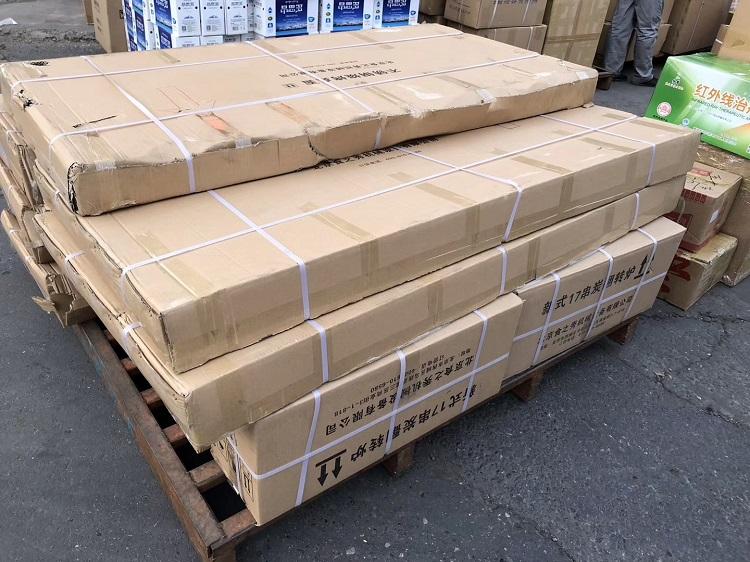 黑龙江五大连池刘老板定做的26套不锈钢烧烤桌已发走