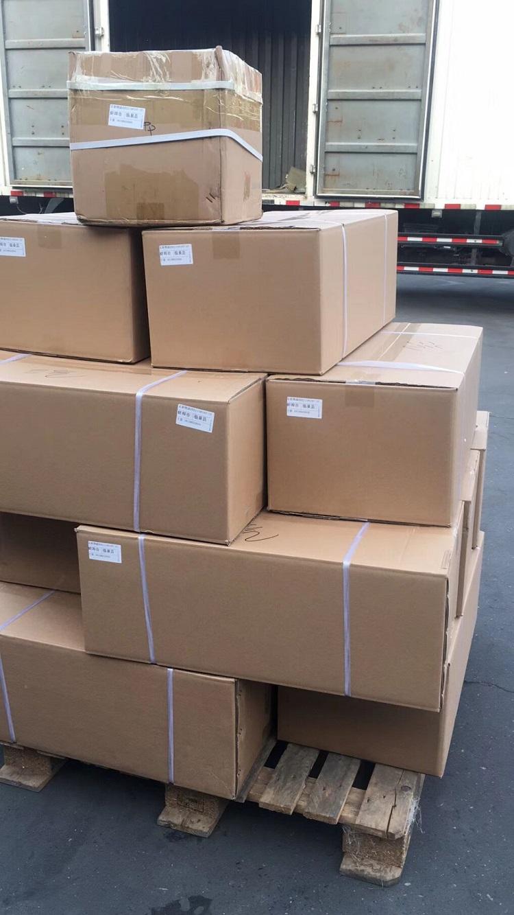 安徽阜阳于老板订购的24台燃气自动烧烤炉发货中
