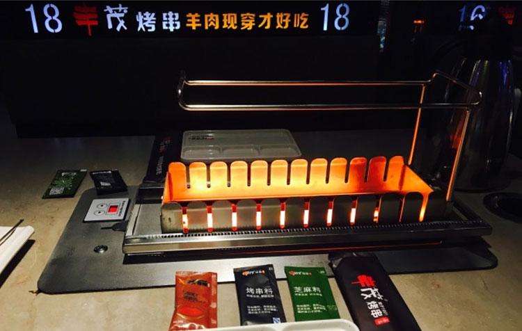 食之秀丰茂款自动电烤炉使用实拍