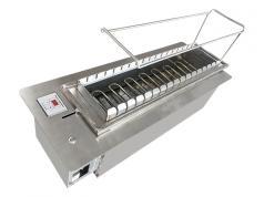 食之秀新黑晶管无烟电烤炉 烧烤炉 自动烧烤炉