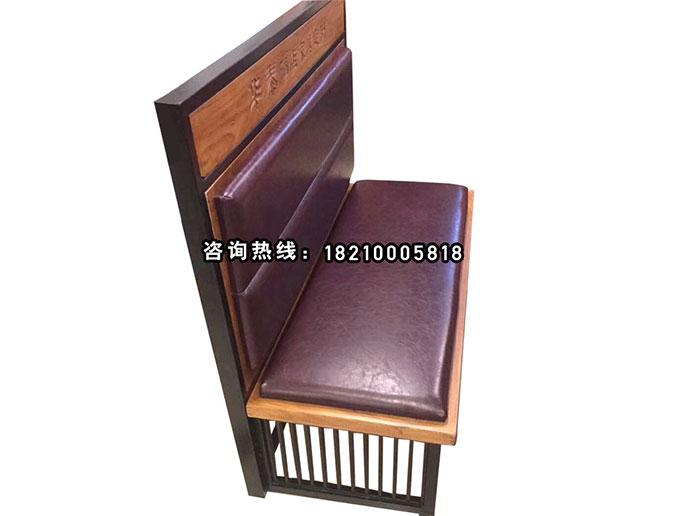 食之秀软包卡座 创意桌椅 很久以前烧烤桌椅定做加工