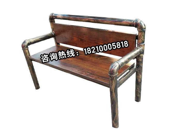 仿铜管椅  后工业时代风格单椅