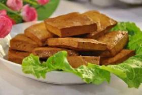 烧烤豆腐干的做法_烤豆腐干怎么做