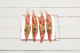 碳烤阿根廷红虾的做法