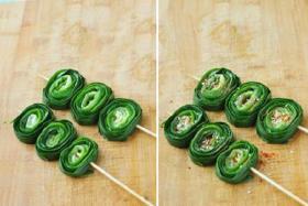 烤韭菜怎么做?家常烤韭菜的做法_烤韭菜的制作步骤