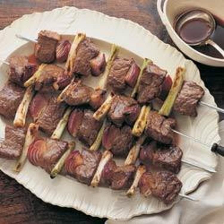 双葱牛肉串的做法_双葱牛肉串怎么做才好吃