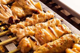 香葱鸡肉串烤肉饭的做法_香葱鸡肉串烤肉饭怎么做