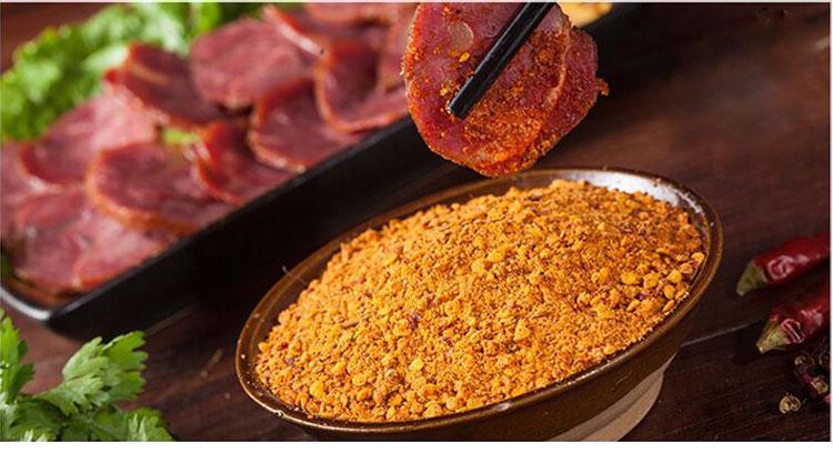 自助式烧烤加盟店专用烧烤配料 特辣口味烧烤蘸料