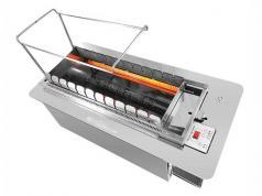 很久以前用无烟电烤炉 全自动商用无烟自动翻转烧烤机