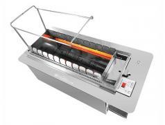 很久以前全自动商用无烟自动翻转烧烤机