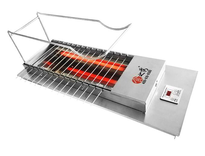 很久以前无烟自动电热烧烤炉