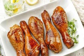 很久以前无烟电烧烤炉制作香辣烤鸡腿的方法