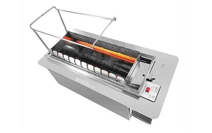 无烟电热式自动烧烤炉