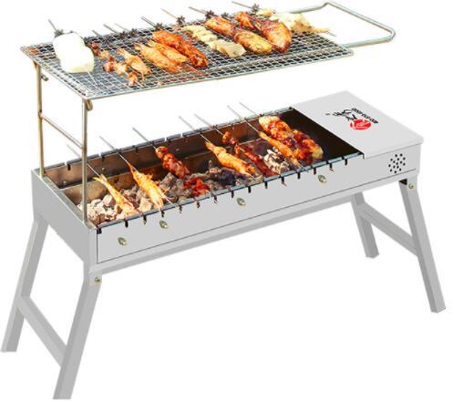 户外烧烤的这些技能你要知道:组装、点火
