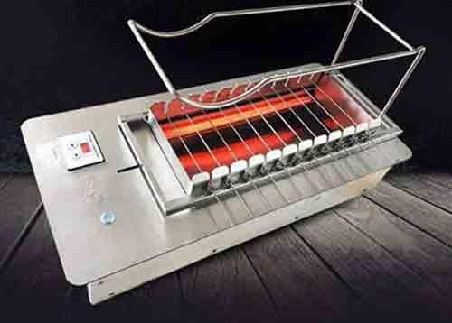 自动翻转烤串炉子